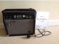 Fender guitar amp, G DEC amplifier