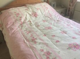 DOUBLE DUVET COVER WITH PILLOWCASES