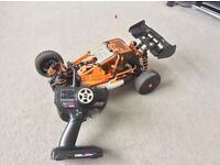 RC car nitro hyper cage in great condition (very quick)