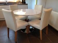 Furniture Village Table & 4 Next Chairs