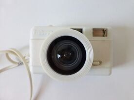 White Retro Vintage Lomography Fisheye One 35mm Camera