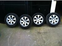 Berlingo or Peugeot Partner Alloy wheels