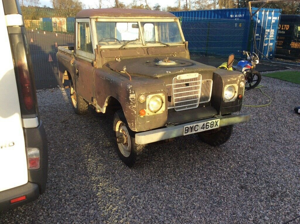 Land Rover serious 2 ideal project