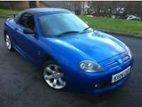 2004 MG TF 1.6 CONVERTIBLE WITH**HARD TOP**FULL MOT**