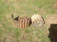 Garden Log Roll Edging Roll