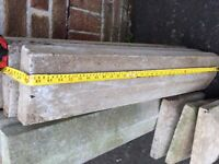 Concrete precast coping and pillar caps, pillar tops