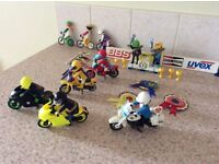 Playmobil - mixed collection of bikers