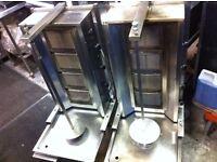 DONER KEBAB GRILL USED CAFE BBQ FAST FOOD RESTAURANT KITCHEN BAR SHOP TAKE AWAY