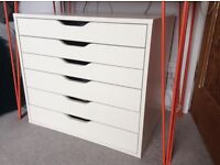 IKEA Alex large white set of drawers for office, study, studio etc
