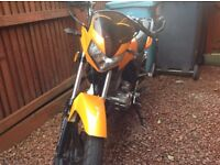 125cc Zontes Panther 14 plate Good condition