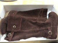 Brown Suede Boots (Bought from Evans)