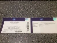 Red Hot Chili Peppers O2 London - Mon 5 Dec - 1 Ticket Level One