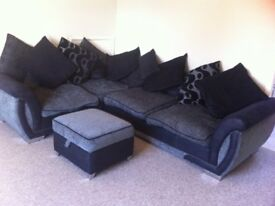 REDUCED TO SELL Luxury DFS Nearly New Corner Sofa