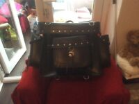 Motorcycle back pannier