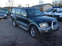 Mitsubishi Shogun GLS 3.2 diesel starts drives and runs perfect low mileage 91,000 miles from new