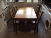 Table and 4 chairs £50 ono