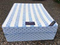 Cumfilux King Size Bed, Firm Backcare Mattress & Divan Base, £40