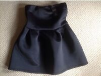 Top Shop Black dress size 14 / new with tags - scuba material