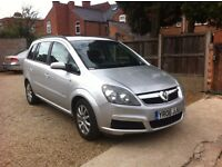 Vauxhall Zafira 1.6 i 16v Club 5dr, ONE PREVIOUS OWNER, FULLY SERVICED
