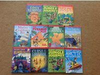 Usborne puzzle adventure books