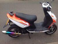 LEXMOTO TORNADO 50 cc Moped Motocycle motorbike