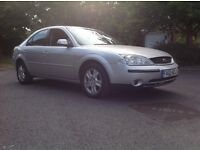 2002 FORD MONDEO GHIA 2.0 TDCI. READ ADVERT BEFORE CALLING