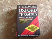 THE CONCISE OXFORD THESAURUS..