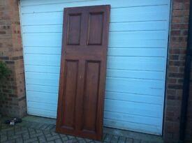 Vintage 4 Panel door