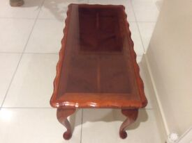 Coffee Table made from solid wood (Yew) in good condition