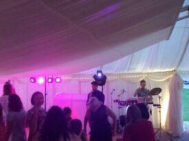 Disco   DJ for Hampshire Surrey London   Wedding   Party   Birthday  Ibiza Saxophone, Congas, Violin