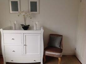 Brand New Solid Beechwood Dresser/Cabinet - White