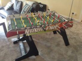 4 Foot Rapid Fire Folding Football Table