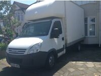 Iveco Daily 35c12 2008, Luton body with barn doors
