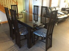 Reid's dining room table and 6 chairs