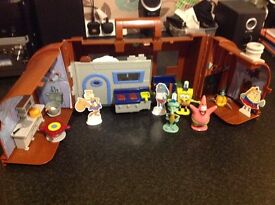 SpongeBob Krusty crab playset