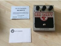 New Electro Harmonix Big Muff PI Pedal For Sale. New in Box.