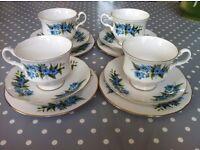 Vintage Royal Kent Bone China Tea Set