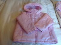 Girls 2 in 1 coat in pink -Age 7-8 years