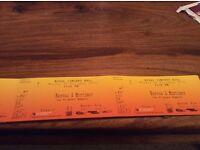 Reeves & Mortimer -Royal Concert Hall Nottingham