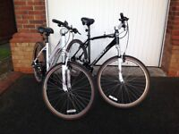 HIS and HERS 'GIANT MOUNTAIN BIKES' MINT CONDITION. CAN BE SOLD SEPARATELY.