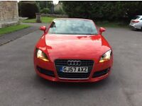 Audi TT . T.f.s.i Rio red mint condition , 31,000 miles .