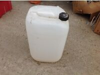 25 Ltr Container / used for chemicals