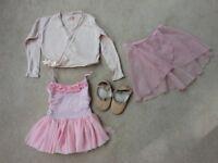 Girls ballet gear