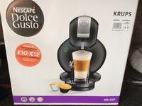 New unopened Krupp Nescafé dolce gusto coffee machine