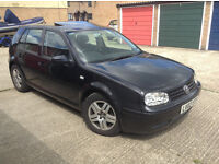 VW Golf for sale .