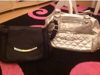 Ladies jackets and 2 handbags bundle