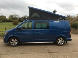 VW Transporter 4 berth full campervan