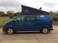 VW Transporter 4 berth full campervan