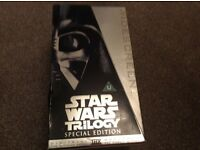STar Wars Trilogy Special Edition Video Box Set