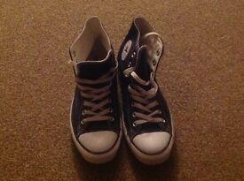 Men's converse boots size 10